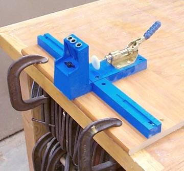 Кондуктор для засверливания отверстий под углом