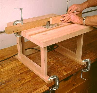 Столик для ручного фрезера