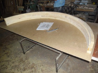 Как сделать арку из двп своими руками пошаговая инструкция