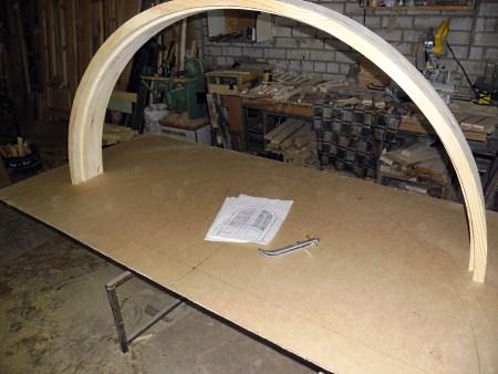 Как сделать арку своими руками из досок