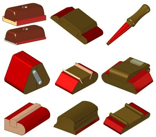 Самодельные приспособления для шлифовки вручную