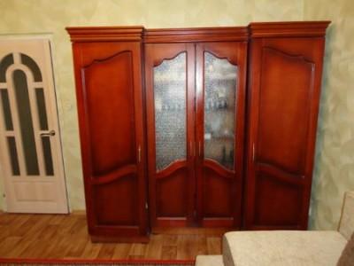 Ремонт шкафа, изготовление новых дверок из дерева