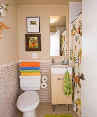 Шторы для маленькой ванной