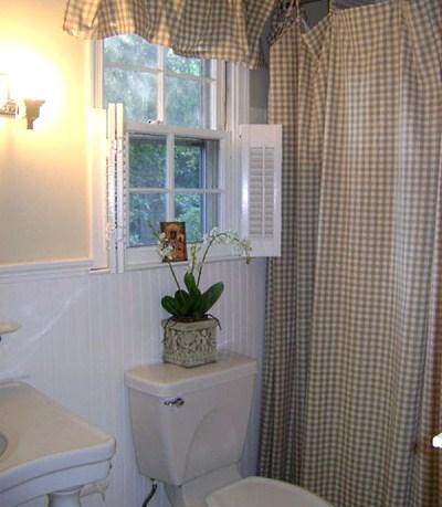 Сельский стиль в ванной