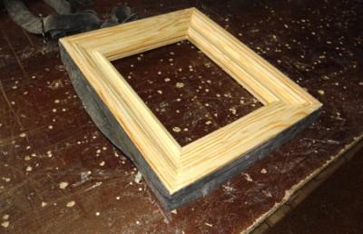 Рамка для картины из дерева своими руками видео