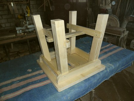 делаем ножки стула