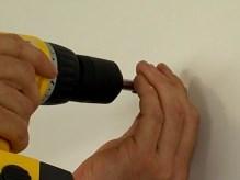отверстие в стене из гипсокартона