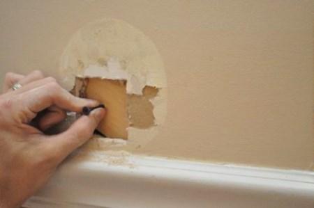 Заплатка на стену