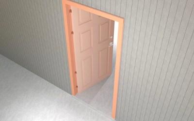 Цвет двери
