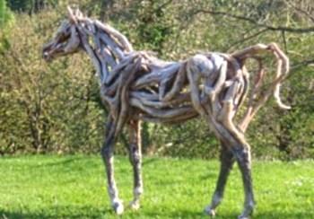 Скульптура из коряги