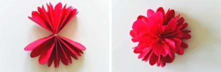 Разворачиваем цветок