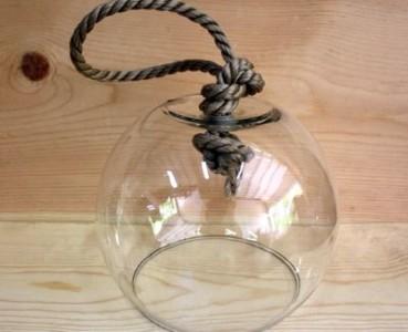Декоративный стеклянный плафон