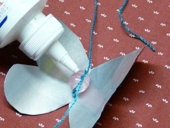 Зафиксировать узел клеем