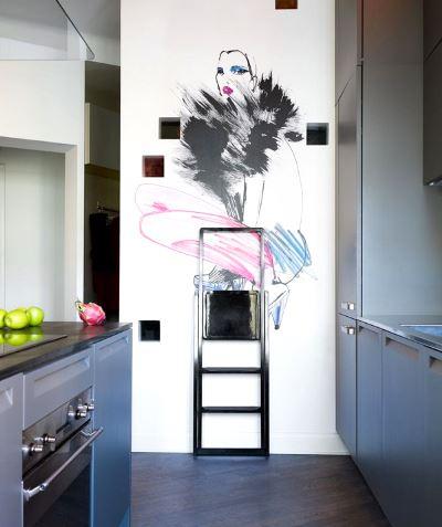 Рисуем мелом на стене
