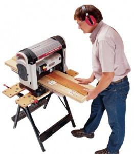 Строгаем кривые доски