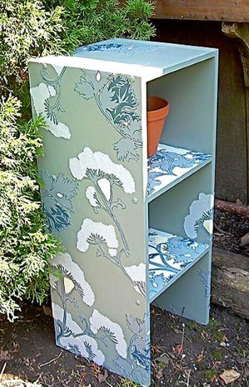 Украсить мебель