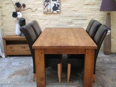 Массивный стол