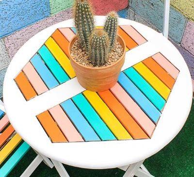 Покрасить стол