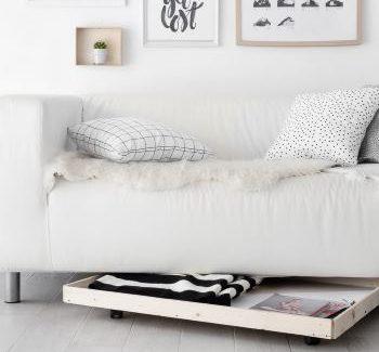 Мебельный ящик под диваном