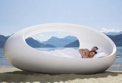 Кровать яйцо