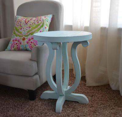 Как покрасить столик