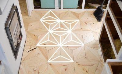 Узор в виде треугольников
