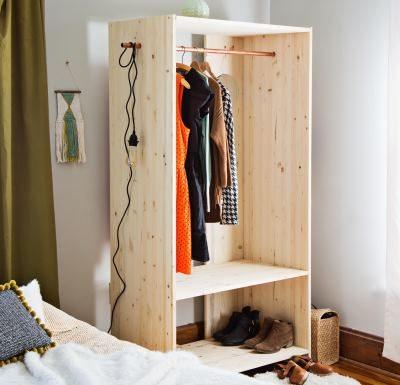 Самодельный гардероб