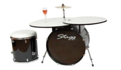 Стол на барабане