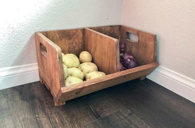 Место для овощей