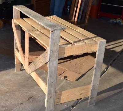 Как закрепить ножки стола
