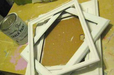 Старые деревянные рамки
