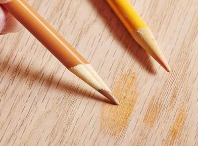 Закрасить карандашом