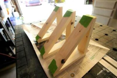 Детали деревянного кронштейна