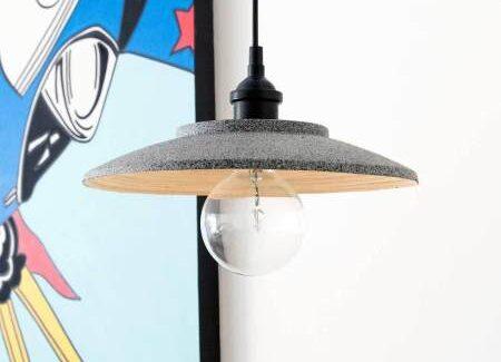 Самодельный стильный светильник