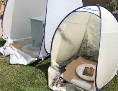 Оборудовать место для малярных работ