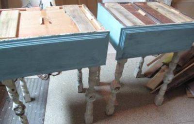Сборка прикроватного столика