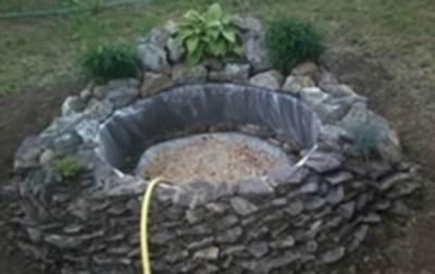 Залить воду