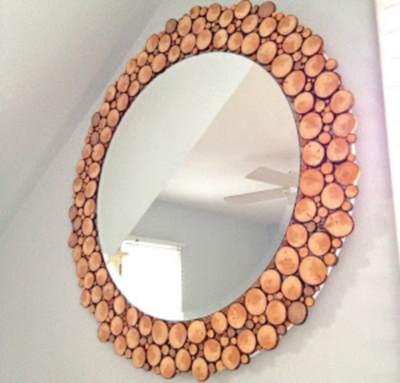 Закрепить зеркало на стене